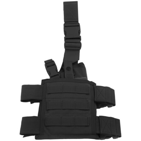 img-Flyye Tactical SpecOps Seals Drop Leg Holster MOLLE System Safety Cordura Black