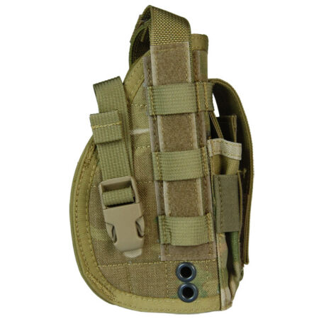 img-Flyye Tactical Pistol Holster MOLLE Airsoft Patrol Right Handed Genuine MultiCam