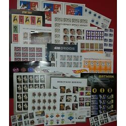 New / Unused 100 Assorted Mixed Designs FOREVER US USA Postage Stamps. FV $55.00