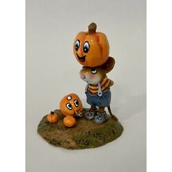 Kyпить Wee Forest Folk Tippy Top SPECIAL Halloween Pumpkin with Faces на еВаy.соm