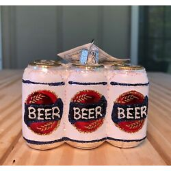 Kyпить Six Pack Of Beer Ornament; Christmas; Alcohol; Drink; Bar; Man cave; Beer Lovers на еВаy.соm