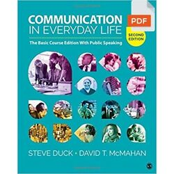 Kyпить Communication in Everyday Life: The Basic Course Edition 2nd Edition на еВаy.соm