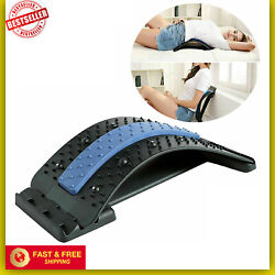 Kyпить Back Stretcher Lumbar For Pain Relief, Spine Deck Massager THerapy на еВаy.соm