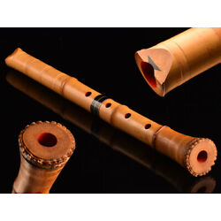 Kyпить Shakuhachi Japanese Bamboo Flute Kinko-Ryu Silver Jointed Traditional Instrument на еВаy.соm