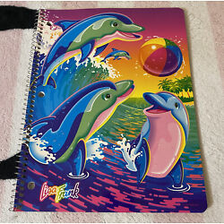Kyпить Vintage Lisa Frank Surfing Dolphins Spiral Notebook Theme Book на еВаy.соm