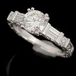Kyпить GIA Cert Estate 1.6ct Diamonds 18k White Gold Engagement Ring Bridal H I1 Gift на еВаy.соm