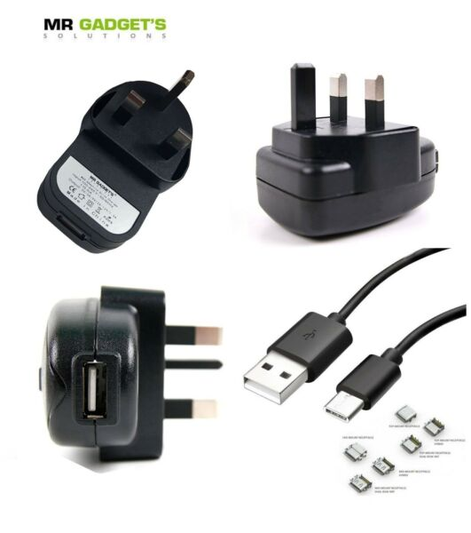 London,United Kingdom Mains Fast Charger + Type C Cable For Samsung S8 S9 S10 S10E S10+ Note 20