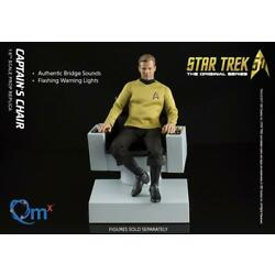 Kyпить STAR TREK ORIGINAL SERIES QMx 1:6 USS ENTERPRISE CAPTAIN'S HELM LED +NRFB на еВаy.соm