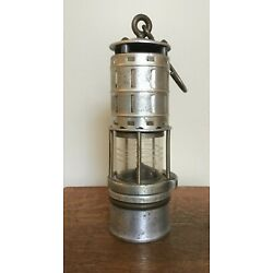 Kyпить Vintage Wolf Permissible Miners Flame Safety Lamp Lantern  на еВаy.соm