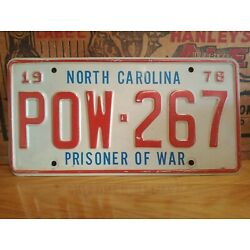 Kyпить 1978 North Carolina POW Prisoner Of War Tag на еВаy.соm