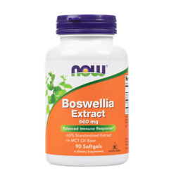NOW Foods - Boswellia Extract 500 mg - 90 Softgels