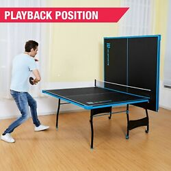 Kyпить Official Size Table Tennis Ping Pong Table Indoor With Paddle And Balls  на еВаy.соm