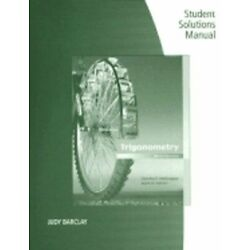 Trigonometry Student Solutions Manual by Charles P McKeague: New