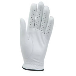 Men's Large All Weather White Cabretta Leather Golf Gloves (Right Handed Golfer)