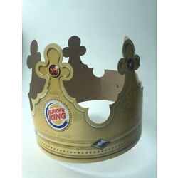 Burger King Crown  Paper Hat  Shipped in a Box  from usa BK B K 2014 Collectible