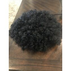 Short Curly Synthetic Hair Wig for Black Women Wavy Full Head Heat Resistant Wig