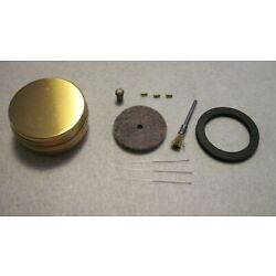 CARBIDE LAMP BRASS TYPE POCKET REPAIR KIT INCLUDING NEW TIP AND OTHER PARTS