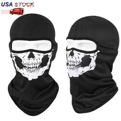 Balaclava Call of Duty Microfiber Thin Full Face Mask with Ghost Skull