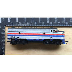 Life-Like Amtrak #106 Locomotive HO Scale Model Train Car - Parts/Repair Only