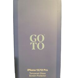 GoTo iPhone 12/12 Pro Tempered Glass Screen Protector NEW