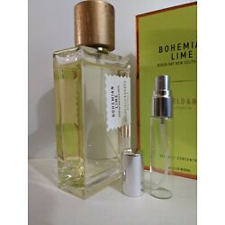 Goldfield & Banks Bohemian Lime 5ml Spray Sample w Free Shipping (2020 Release)