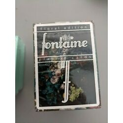 Fontaine Futures Playing Cards Floral Sealed Edition 2500