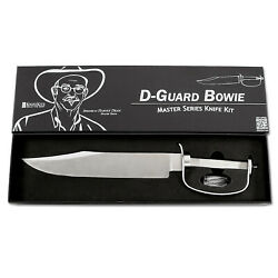 D-Guard Bowie - Master Series Fixed Blade Knife Kit - (Designed by Harvey Dean)