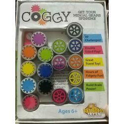 COGGY by Fat Brain Toys Game Puzzle Problem Solving Gears Ages 6 and up.