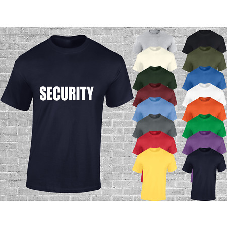img-SECURITY MENS T SHIRT FUNNY SECURITY GUARD JOKE NOVELTY GIFT FANCY DRESS TOP