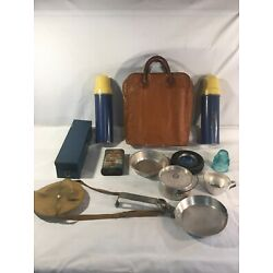 vintage antique items camping lot & misc