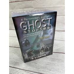 GHOST STORIES: A PARANORMAL INSIGHT / 5 TAPE Box SET (VHS) PATRICK MACNEE, NEW