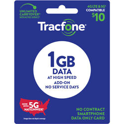 TracFone $10 Data Add On Card 1GB [Email Delivery]