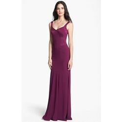 David Meister Mermaid Gown (size 8)