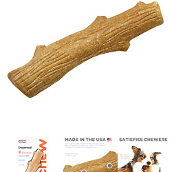 Petstages Alternative Dog Chew Toy Large Brown
