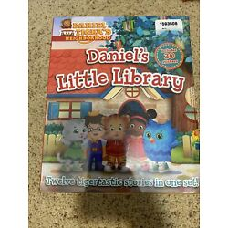 Daniel Tiger 12 Book Series Daniel's Little Library-FREE SHIPPING-NEW