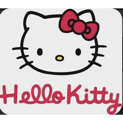 Clear HELLO KITTY WATERSLIDE DECAL ~ 3x3  ~ For Tumblers / Crafts / Hobby