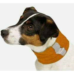 Insect Shield Neck Gaiter For Large Dogs ''Orange''  ~ NEW ~