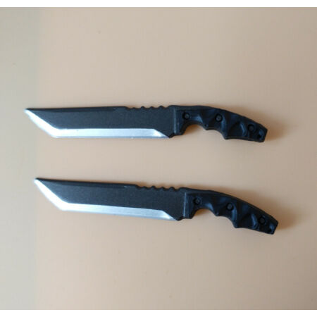 img-1/6 Scale Black Two Combat Knife Models for 12