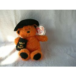 TY Beanie baby,  WITCHY the Halloween Bear (5.5 inch) RARE