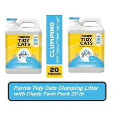 Purina Tidy Cats Clumping Litter with Glade Twin Pack 20 lb., 2 ct.