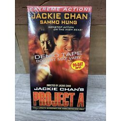 Jackie Chan's Project A - Demo Tape ( Screener VHS ) Jackie Chan , Sammo Hung