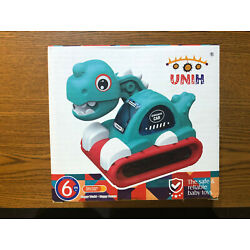 UNIH Musical Dinosaur Car with Light Baby Toy 6 months+ NEW IN BOX SEALED