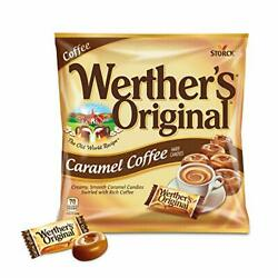 Werther's Original Hard Carmel Coffee Candy, 5.5 Oz Bags (Pack of 12)
