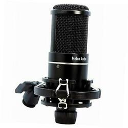 Studio Condenser Microphone, XLR Connecting with Shock Mount, Professional