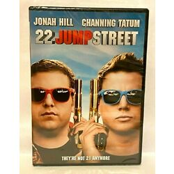 Channing Tatum and Jonah Hill in 22 Jump Street on DVD Disc