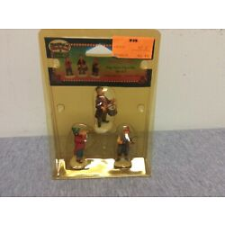 Lemax Christmas Village Collection Musicians Set of 3 Figurines