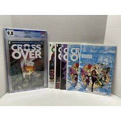Crossover 1 CGC 9.8 Johnson Variant Cover 1st Appearance #3,4 Variants Lot Set
