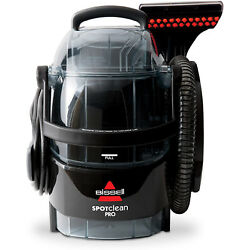 Bissell Spot Clean Professional Portable Carpet Cleaner - Corded , Black