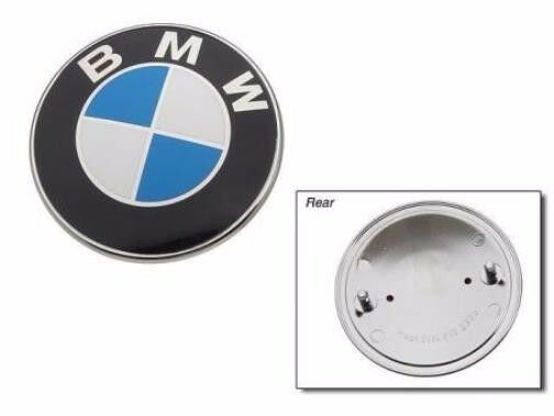 bmw genuine emblem for hood or trunk e28 e30 e34 e36 e46. Black Bedroom Furniture Sets. Home Design Ideas