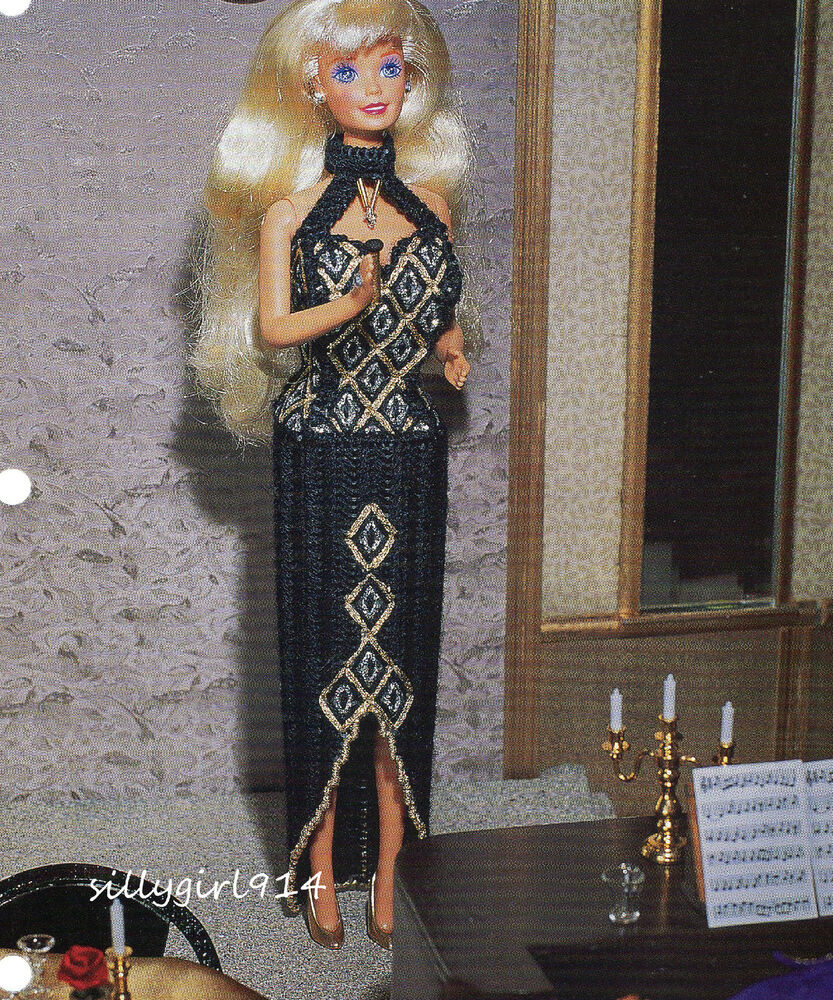 Quot Evening Gown Quot Plastic Canvas Pattern Pattern Only Fits